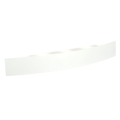 Saxby Lighting Kurba 2 Light Flush Wall Light in Matte White