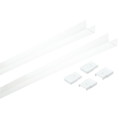 Saxby Lighting T8 Eco Batten Single Diffuser Pack