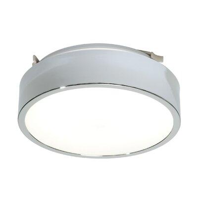 Saxby Lighting Lipco 1 Light Flush Ceiling Light