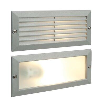Saxby Lighting Eco Plain Flush Wall Light in Grey
