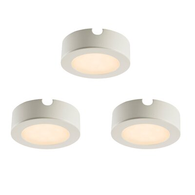 Saxby Lighting Hera 7cm LED Under Cabinet Puck Light