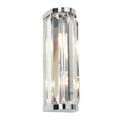 Saxby Lighting Crystal 2 Light Flush Wall Light