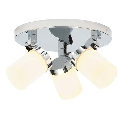 Saxby Lighting Circular 3 Light Ceiling Spotlight