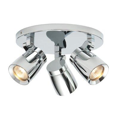 Saxby Lighting Knight 3 Light Ceiling Spotlight