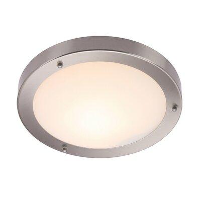 Saxby Lighting Grand Portico 1 Light Flush Ceiling Light