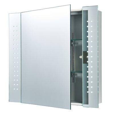 Saxby Lighting Revelo 65cm x 60cm Surface Mount Mirror Cabinet