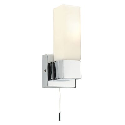 Saxby Lighting Square 1 Light Semi-Flush Wall Light