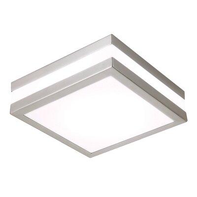 Saxby Lighting Drummond 1 Light Flush Ceiling Light