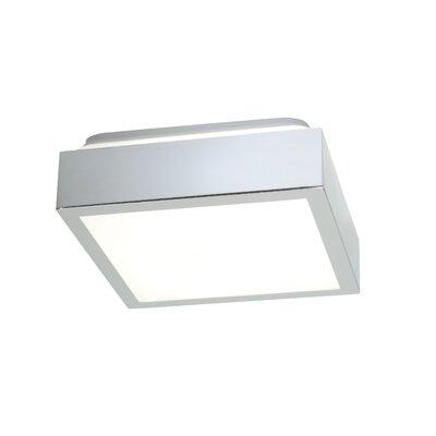 Saxby Lighting Cubita 1 Light Flush Ceiling Light