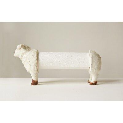 Sheep Resin Free-Standing Paper Towel Holder