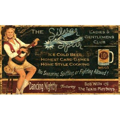 Vintage Signs Silver Spur Vintage Advertisement Plaque