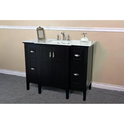 "44"" Single Bathroom Vanity Base Finish: Espresso"