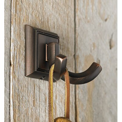 Transitional Metal Wall Hook Finish: Brushed Oil-Rubbed Bronze