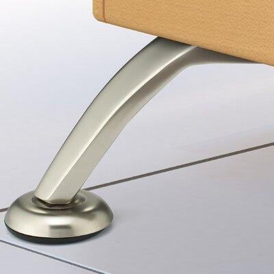 Contemporary Furniture Leg Finish: Brushed Nickel