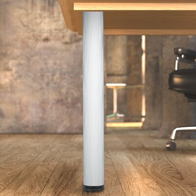 Adjustable Table Leg Finish: Aluminum
