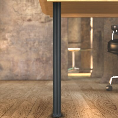 Adjustable Table Leg Finish: Black