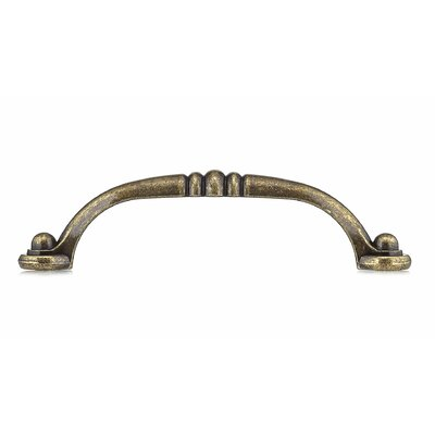 """3 25/32"""" Center Arch Pull Finish: Burnished Brass"""
