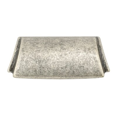 """1 1/4"""" Center Cup/Bin Pull Finish: Faux Iron"""