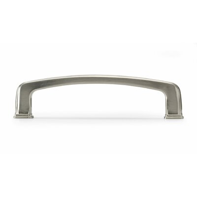 "3 4/5"" Center Bar Pull Finish: Brushed Nickel"