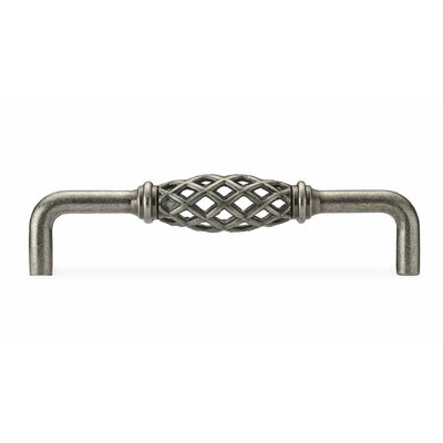 "5"" Center Birdcage Pull Finish: Natural Iron"