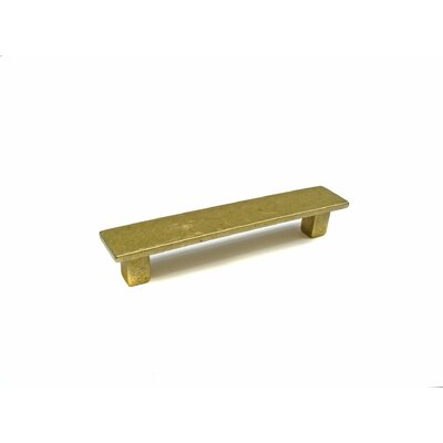 "3 7/9"" Center Bar Pull Finish: Burnished Brass"