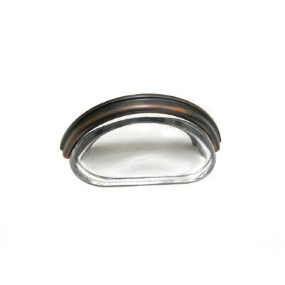 """3"""" Center Cup/Bin Pull Finish: Brushed Oil Rubbed Bronze"""