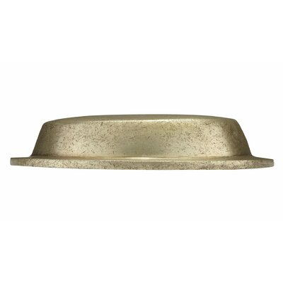 "Wood Screw 4"" Center Cup/Bin Pull Finish: Pewter Bronze"