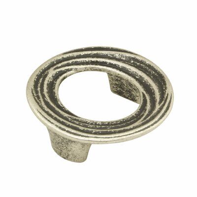 """3"""" Center Recessed Pull Finish: Faux Iron"""