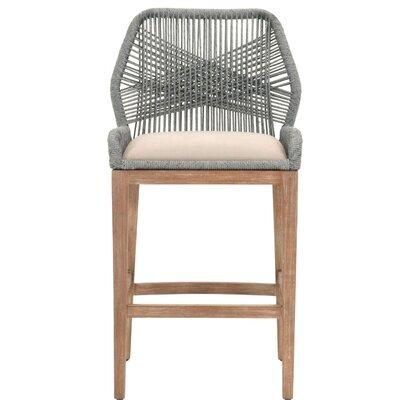 "Kiley 30"" Bar Stool Upholstery: Platinum"