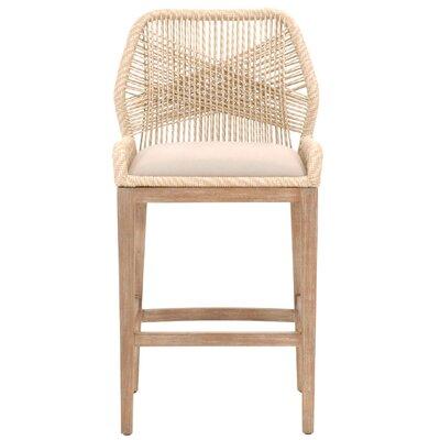 "Kiley 30"" Bar Stool Upholstery: Sand"