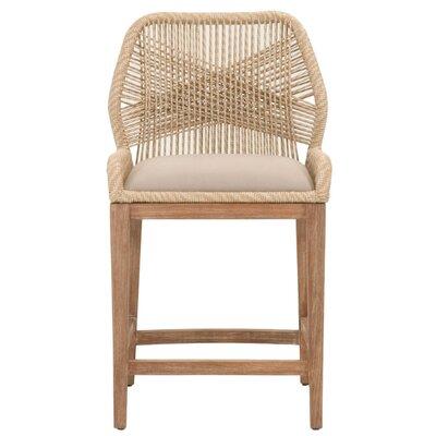 "Kiley 26"" Bar Stool Upholstery: Sand"