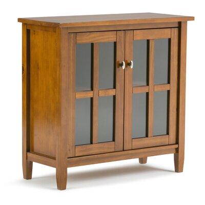 Warm Shaker 2 Door Accent Cabinet Color: Honey Brown