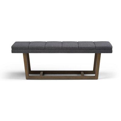 Jenson Bench Upholstery: Slate Gray