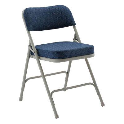 Armless Folding Chair Color: Navy