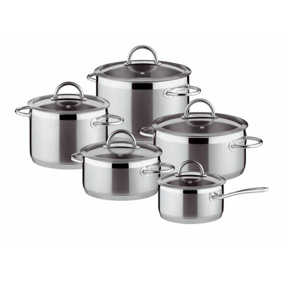 Tescoma Vision 5-Piece Stainless Steel Cookware Set