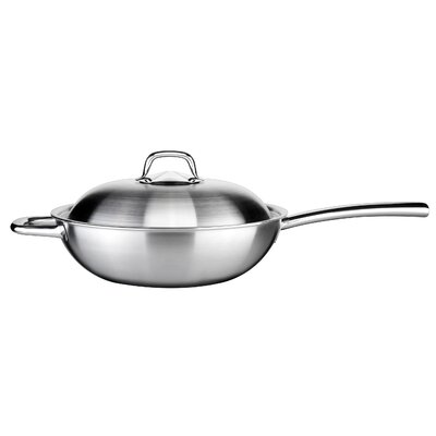 Tescoma President 32cm Stainless Steel Wok with Lid