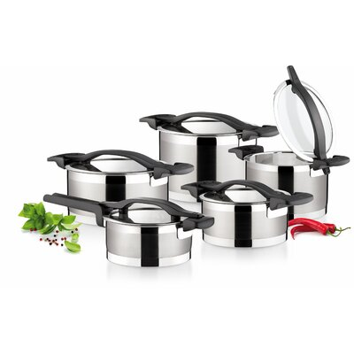 Tescoma Ultima 5-Piece Stainless Steel Cookware Set