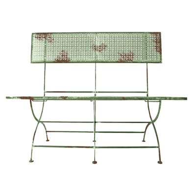 Fallen Fruits 2 Seater Metal Bench