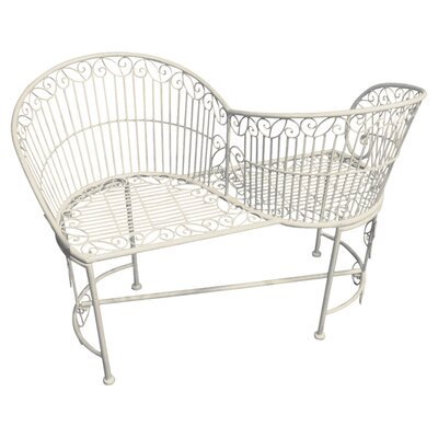 Fallen Fruits Old Rectory 2 Seater Steel Love Seat