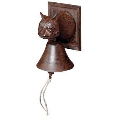 Fallen Fruits Best for Boots Cat Head Door Bell