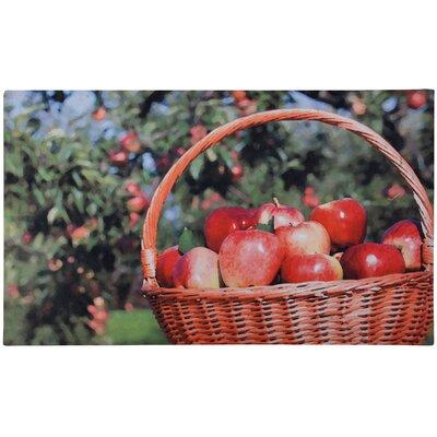 Fallen Fruits Best for Boots Apples Printed Doormat