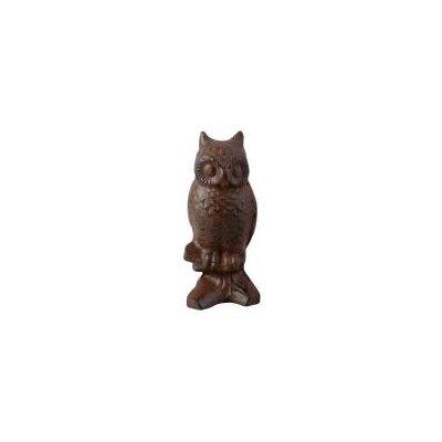 Fallen Fruits Cast Iron Owl Statue