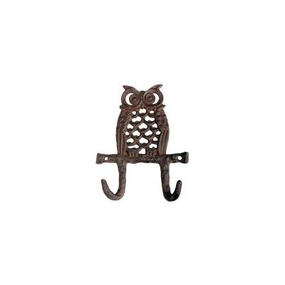 Fallen Fruits Owl Wall Mounted Coat Rack
