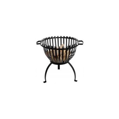 Fallen Fruits Metal Wood Fire Pit
