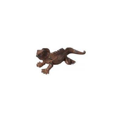 Fallen Fruits Cast Iron Chameleon Statue
