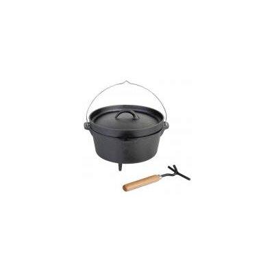 Fallen Fruits Metal and Wood Fire Cooking Pot