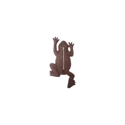 Fallen Fruits Frog Thermometer