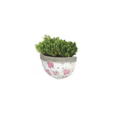 Fallen Fruits Rose Half Round Wall Mounted Planter