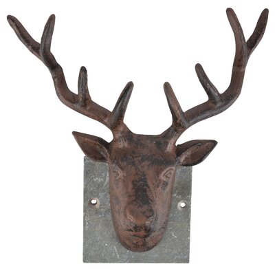 Fallen Fruits Deer on Slate Wall Decor