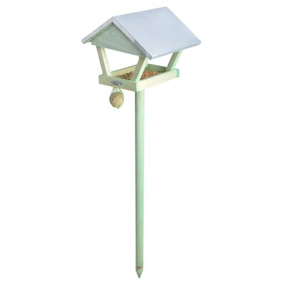 Fallen Fruits Wooden Gazebo Bird Feeder